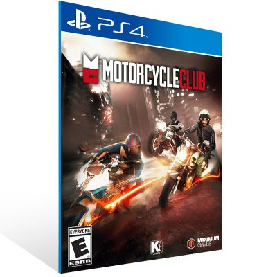PS4 - Motorcycle Club - Digital Código 12 Dígitos Americano