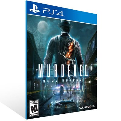 PS4 - MURDERED: SOUL SUSPECT - Digital Código 12 Dígitos Americano