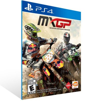 PS4 - MXGP - The Official Motocross Videogame - Digital Código 12 Dígitos Americano