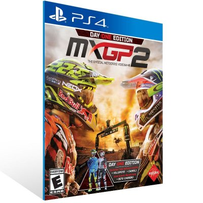 PS4 - MXGP2 - The Official Motocross Videogame - Digital Código 12 Dígitos Americano