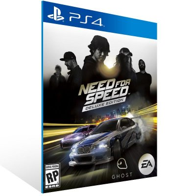 PS4 - Need for Speed Deluxe Edition - Digital Código 12 Dígitos Americano