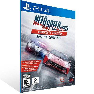 PS4 - Need for Speed Rivals - Digital Código 12 Dígitos Americano