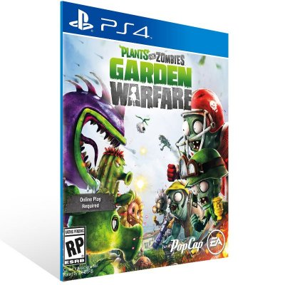 PS4 - Plants vs. Zombies Garden Warfare - Digital Código 12 Dígitos Americano