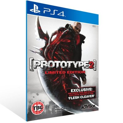 PS4 - Prototype 2 - Digital Código 12 Dígitos US
