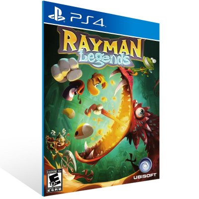 PS4 - Rayman Legends - Digital Código 12 Dígitos Americano
