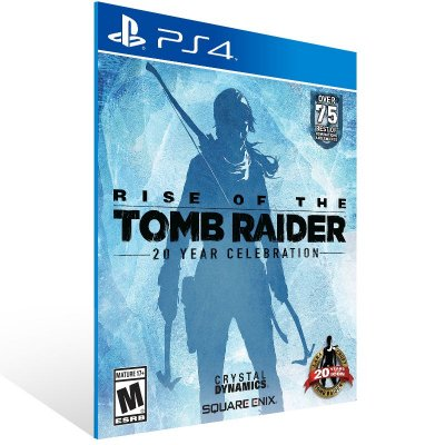 PS4 - Rise of the Tomb Raider: 20 Year Celebration - Digital Código 12 Dígitos Americano