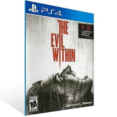 PS4 - The Evil Within - Digital Código 12 Dígitos Americano