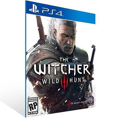 PS4 - The Witcher 3: Wild Hunt - Digital Código 12 Dígitos US