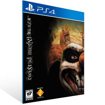 PS4 - Twisted Metal: Black - Digital Código 12 Dígitos Americano