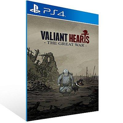 PS4 - Valiant Hearts: The Great War - Digital Código 12 Dígitos Americano