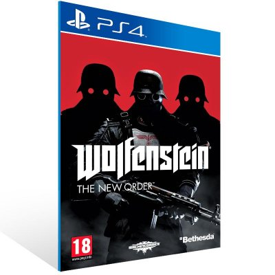 PS4 - Wolfenstein: The New Order - Digital Código 12 Dígitos Americano
