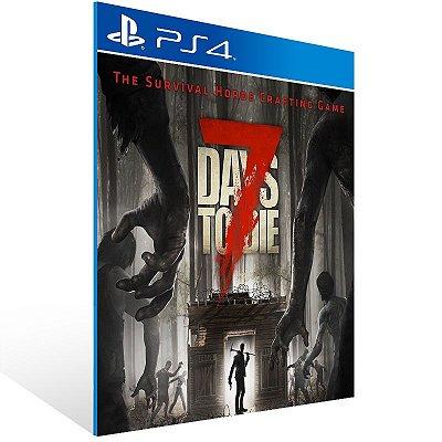 PS4 - 7 Days to Die - Digital Código 12 Dígitos Americano