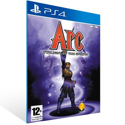 Ps4 - Arc The Lad: Twilight of the Spirits - Digital Código 12 Dígitos US