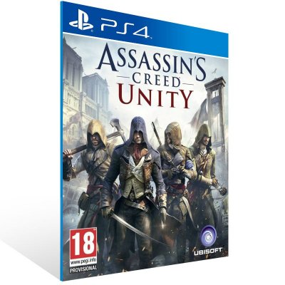 Ps4 - Assassin's Creed Unity - Digital Código 12 Dígitos US