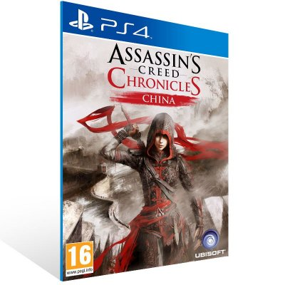 Ps4 - Assassin's Creed Chronicles: China - Digital Código 12 Dígitos US