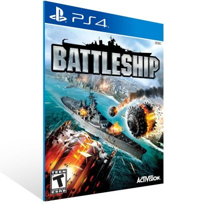 PS4 - BATTLESHIP - Digital Código 12 Dígitos Americano