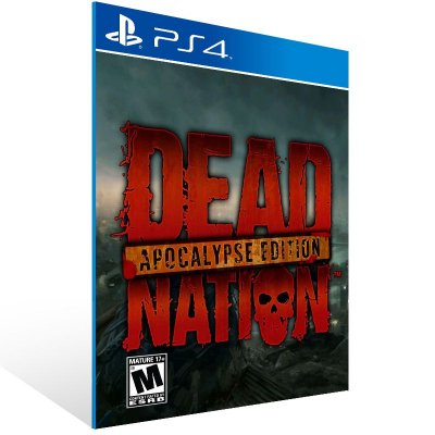 Ps4 - Dead Nation Apocalypse Edition - Digital Código 12 Dígitos US