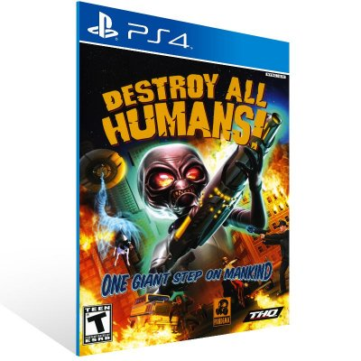 PS4 - Destroy All Humans! - Digital Código 12 Dígitos Americano