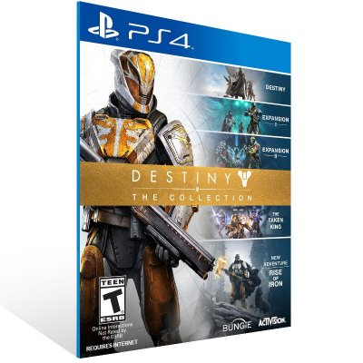 PS4 - Destiny - The Collection - Digital Código 12 Dígitos Americano