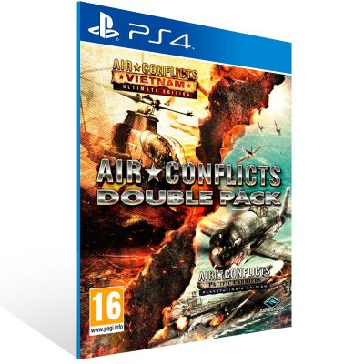 Ps4 - Air Conflicts: Double Pack - Digital Código 12 Dígitos US