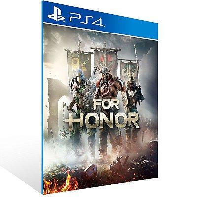 PS4 - For Honor - Digital Código 12 Dígitos US
