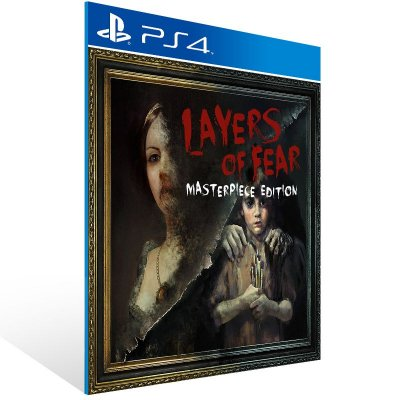 PS4 - Layers of Fear: Masterpiece Edition - Digital Código 12 Dígitos Americano
