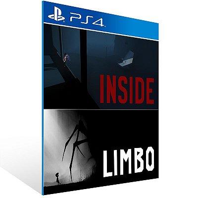 PS4 - LIMBO & INSIDE Bundle - Digital Código 12 Dígitos Americano
