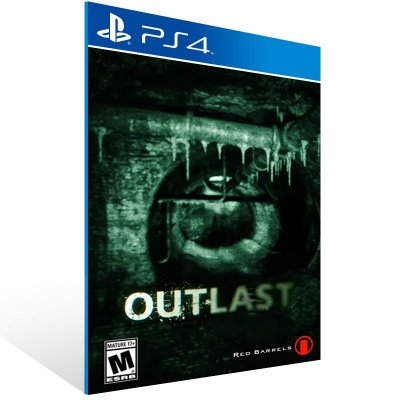 Ps4 - Outlast - Digital Código 12 Dígitos US