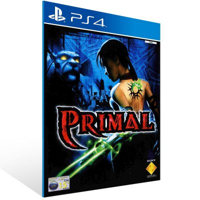 PS4 - Primal - Digital Código 12 Dígitos US