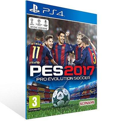 PS4 - Pro Evolution Soccer 2017 - Digital Código 12 Dígitos US