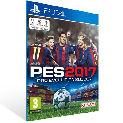 PS4 - Pro Evolution Soccer 2017 - Digital Código 12 Dígitos Americano