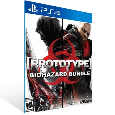 PS4 - Prototype Biohazard Bundle - Digital Código 12 Dígitos Americano