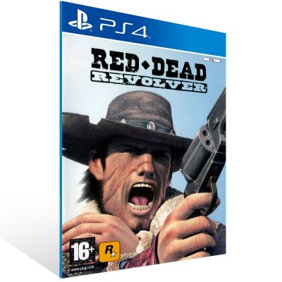 PS4 - Red Dead Revolver - Digital Código 12 Dígitos US
