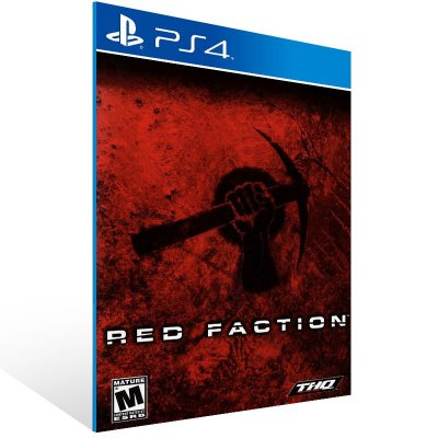 PS4 - Red Faction - Digital Código 12 Dígitos US