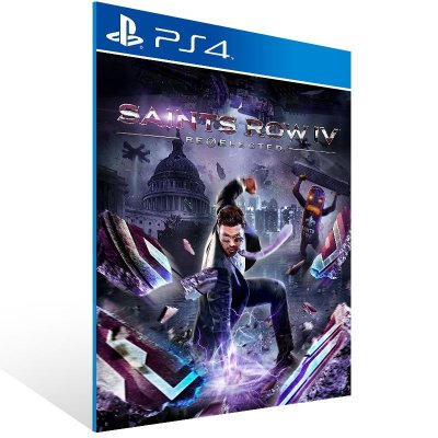 PS4 - Saints Row Re-Elected - Digital Código 12 Dígitos Americano