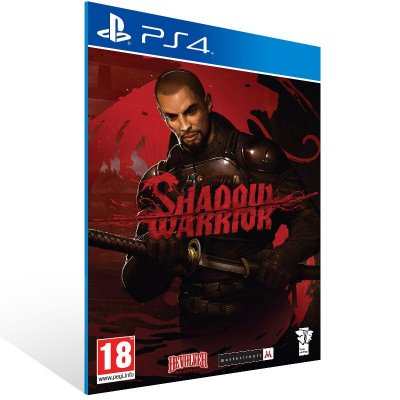 PS4 - Shadow Warrior - Digital Código 12 Dígitos Americano