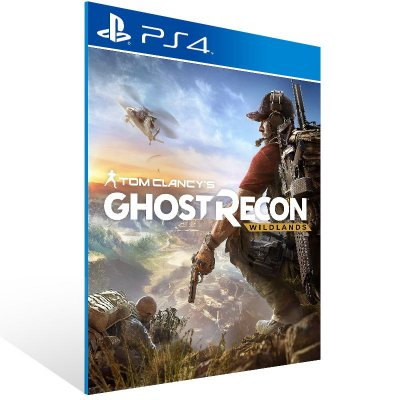 PS4 - Tom Clancy's Ghost Recon Wildlands Standard Edition - Digital Código 12 Dígitos Americano