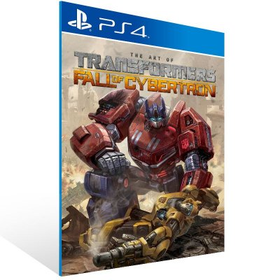 PS4 - TRANSFORMERS: Fall of Cybertron - Digital Código 12 Dígitos US