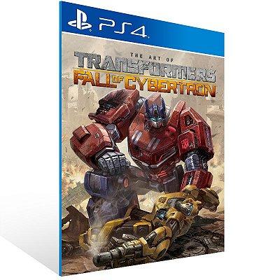 PS4 - TRANSFORMERS: Fall of Cybertron - Digital Código 12 Dígitos Americano