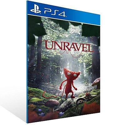 PS4 - Unravel - Digital Código 12 Dígitos Americano