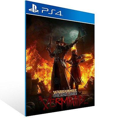PS4 - Warhammer: End Times - Vermintide - Digital Código 12 Dígitos Americano