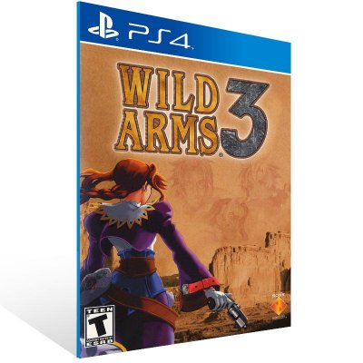 PS4 - Wild Arms 3 - Digital Código 12 Dígitos US