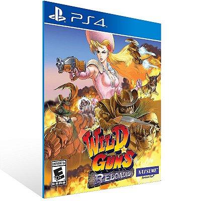 PS4 - Wild Guns Reloaded - Digital Código 12 Dígitos Americano