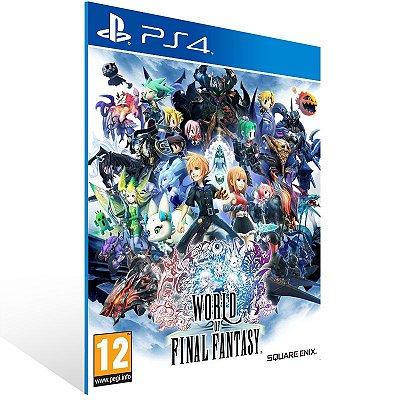 PS4 - WORLD OF FINAL FANTASY - Digital Código 12 Dígitos Americano