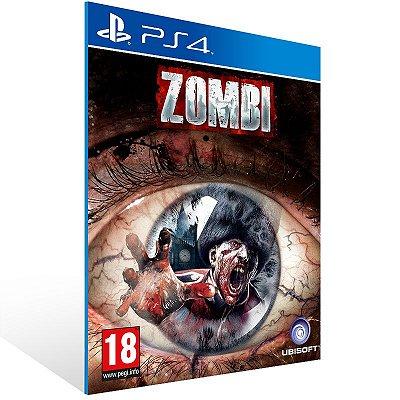 PS4 - ZOMBI - Digital Código 12 Dígitos Americano