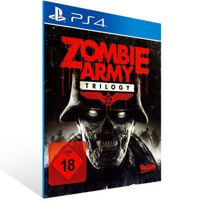 PS4 - Zombie Army Trilogy - Digital Código 12 Dígitos Americano