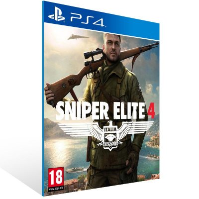 PS4 - Sniper Elite 4 - Digital Código 12 Dígitos Americano