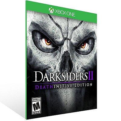 XBOX One - Darksiders II Deathinitive Edition - Digital Código 25 Dígitos Americano