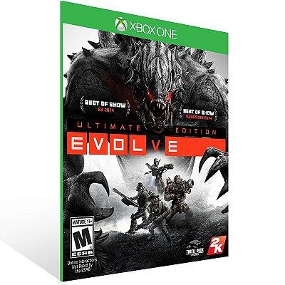 XBOX One - Evolve Ultimate Edition - Digital Código 25 Dígitos Americano