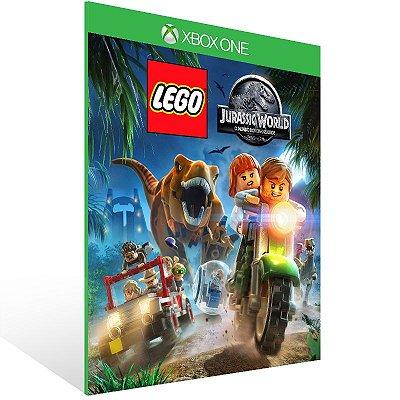 Xbox One - LEGO Jurassic World O Mundo Dos Dinossauros - Digital Código 25 Dígitos US
